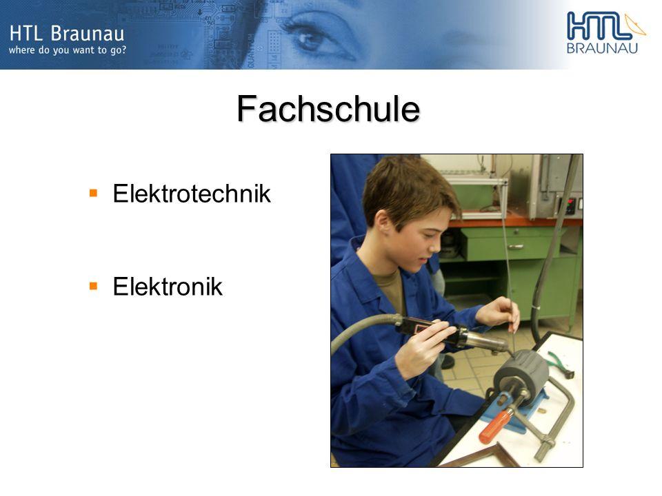 Fachschule Elektrotechnik Elektronik