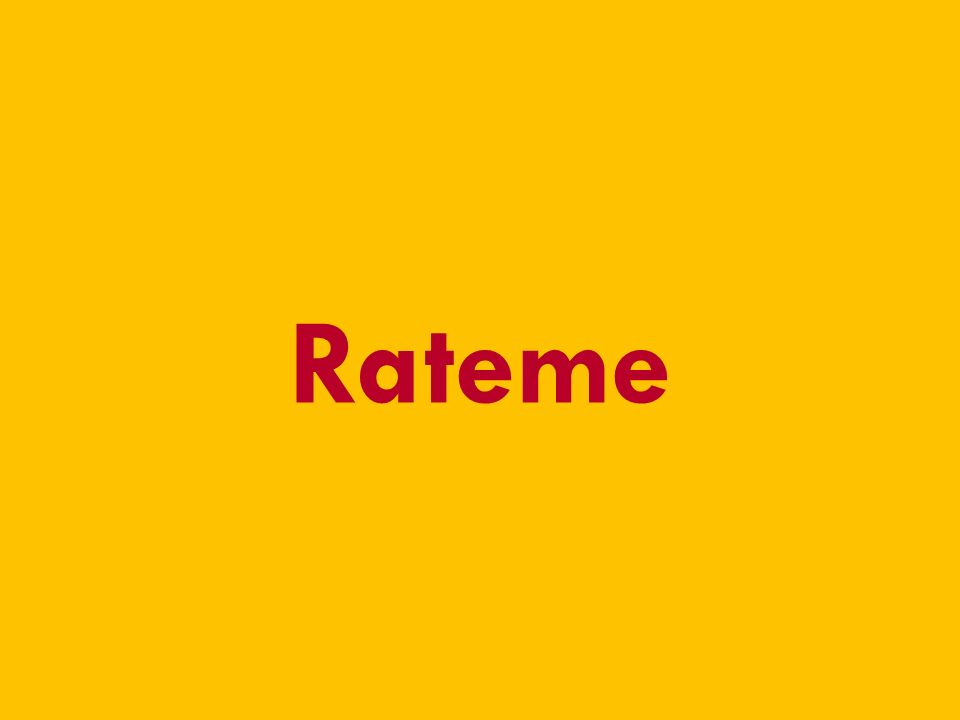 13.01.2010 RateMe - Pirmin Schürmann, Thomas Junghans - Hochschule für Technik Zürich 13 Rateme