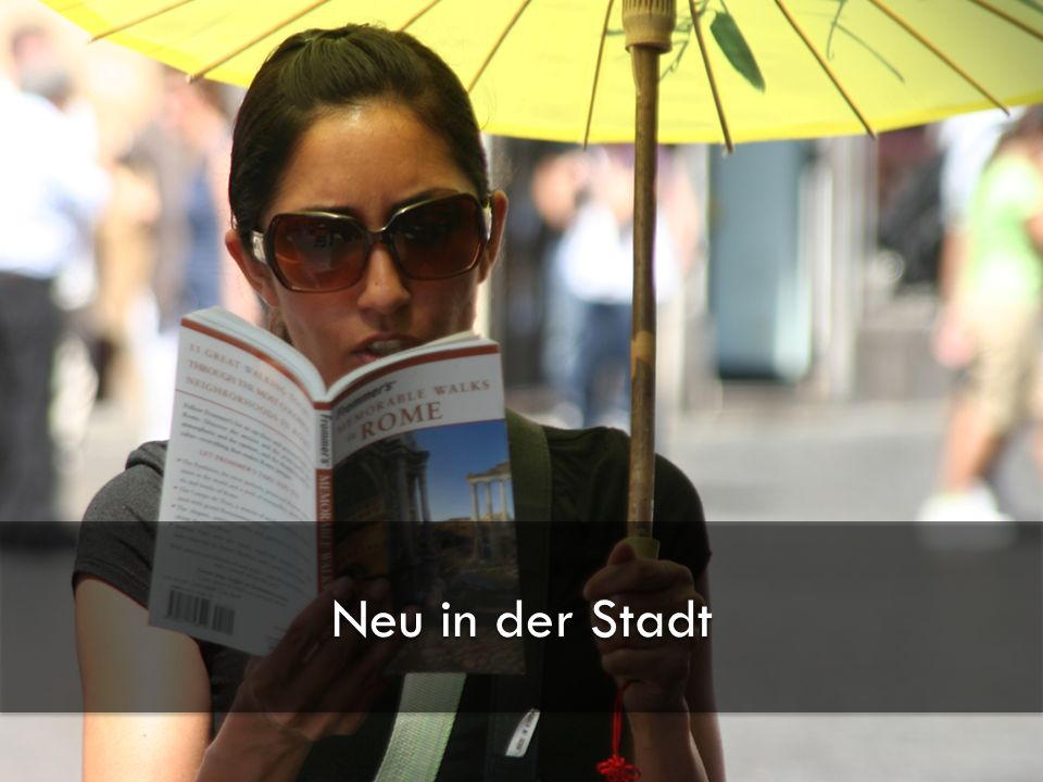 13.01.2010 RateMe - Pirmin Schürmann, Thomas Junghans - Hochschule für Technik Zürich 3 Neu in der Stadt