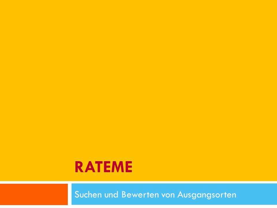 Fragen 13.01.2010 RateMe - Pirmin Schürmann, Thomas Junghans - Hochschule für Technik Zürich 12