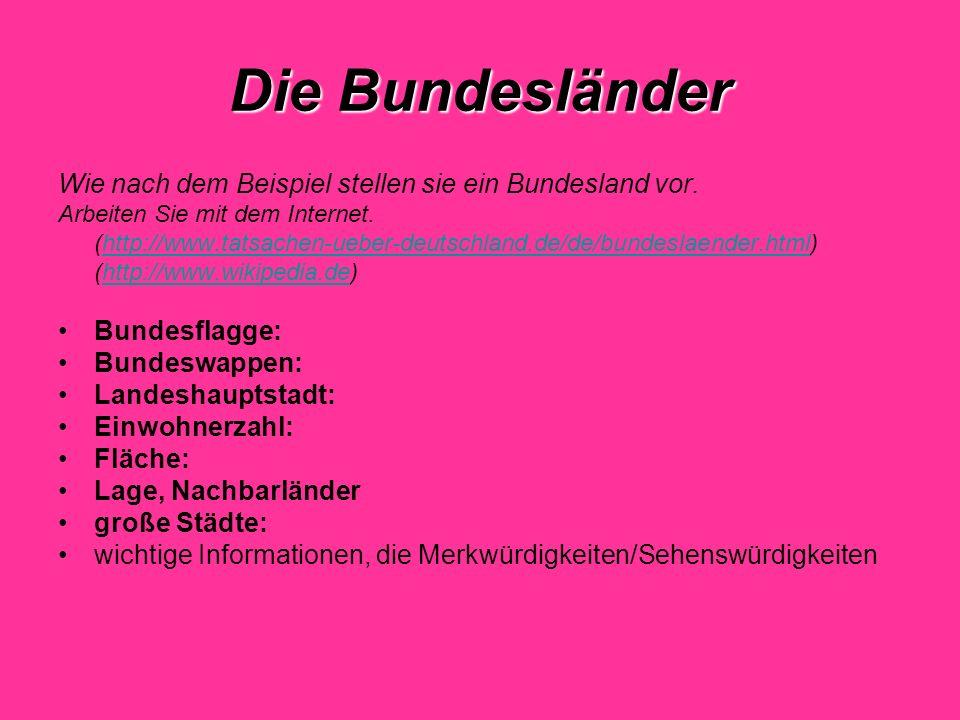 Saarland Landeshauptstadt: Saarbrücken (177 000 Einwohner) Einwohner: 997 855 Fläche: 2.570 qkm Saarland ist das kleinste Bundesland.