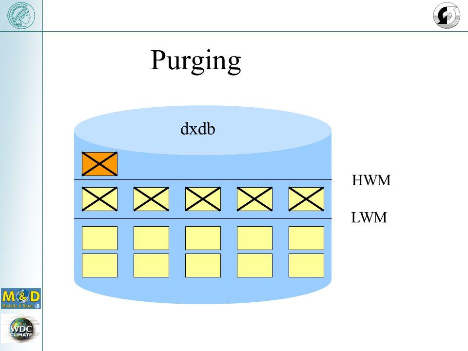 dxdb LWM HWM Purging