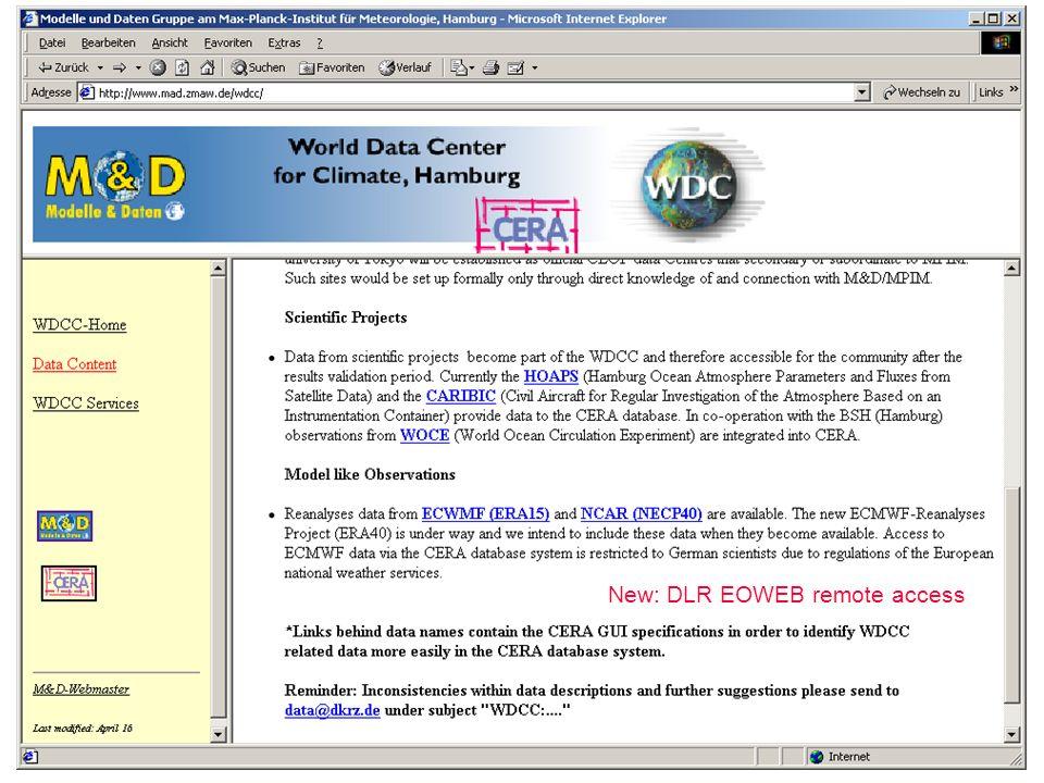 M. Lautenschlager (M&D/MPIM) / 24.04.2003 / 18 Weiter mit Datenpublikation und Primärdaten-DOI/URN?