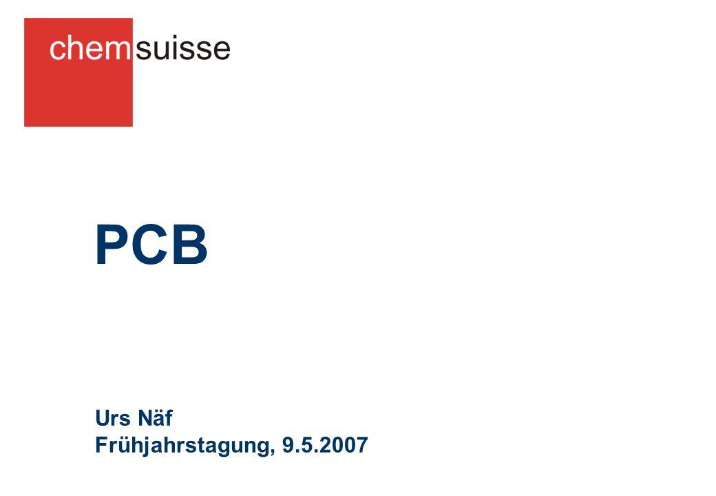 PCB Urs Näf Frühjahrstagung, 9.5.2007