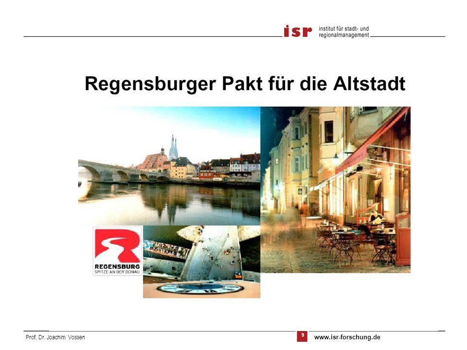 9 Prof. Dr. Joachim Vossen www.isr-forschung.de