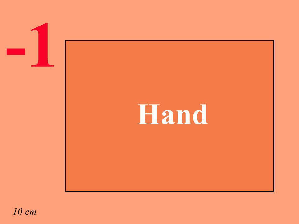 Hand 10 cm