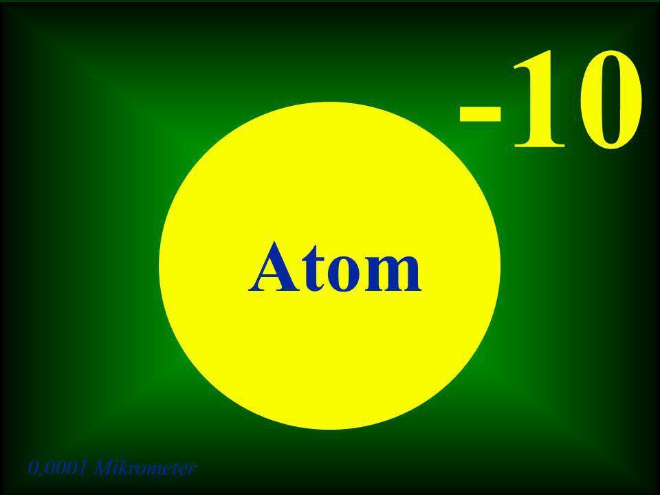 0,0001 Mikrometer -10 Atom