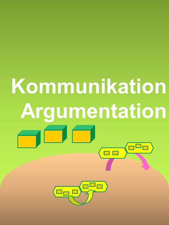 Kommunikation Argumentation