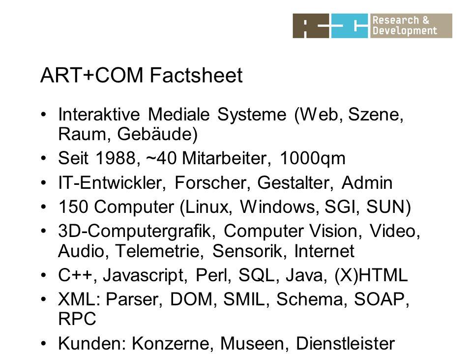 BMBF-geförderte Aktivitäten im Rahmen des Wachstumskern xml:city Berlin Untersucht wurden: -Eventpropagationsmechanismen in DOMs -Zugriffsmuster typischer Anwendungen auf W3C-DOMs -Standardkonformität und wechselseitige Kompatibilität von XML-Prozessoren im Hinblick auf DTDs und XML-Schema -Alternativen zu XML-Schema -Anforderungen beim Streaming von Audio- und Videodatenströmen
