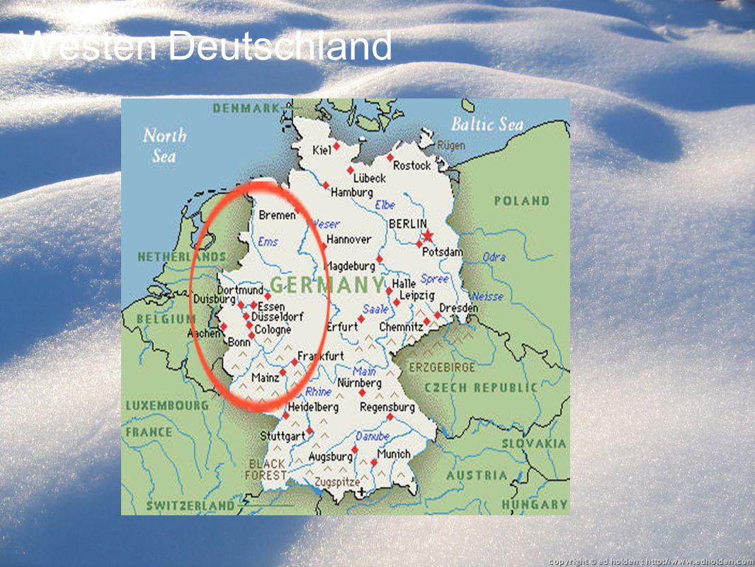 Düsseldorf In Düsseldorf es ist 1 bis 3 Grad. Das ist sehr kalt, nicht?