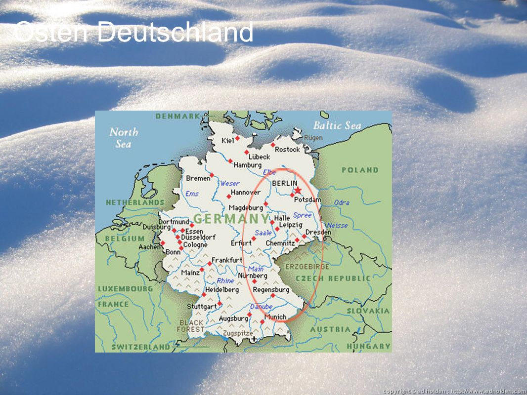Osten Deutschland