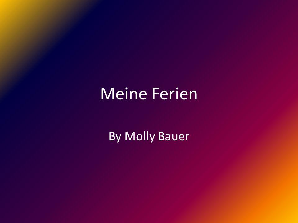 Meine Ferien By Molly Bauer
