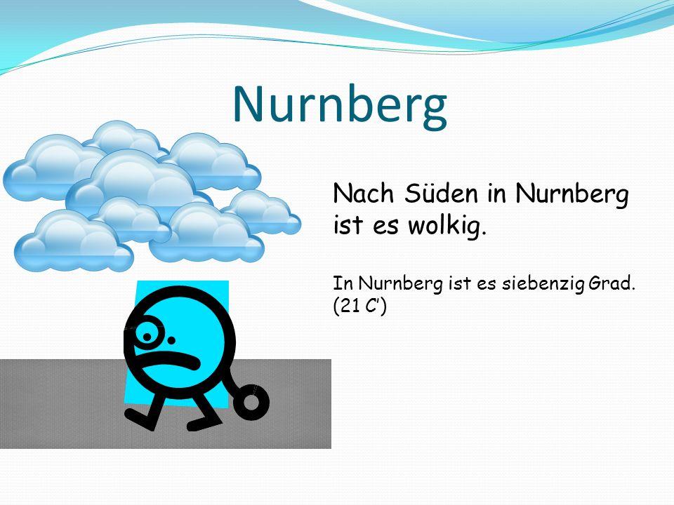 Essen Nach Westen in Essen ist es wolkig und Kühl. In Essen ist es fünfundfünfzig Grad. (12.8 C)