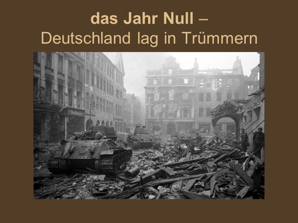 das Jahr Null – Deutschland lag in Trümmern