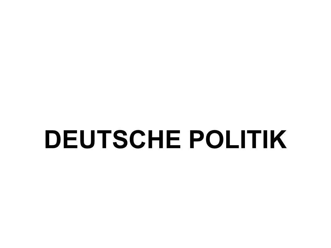DEUTSCHE POLITIK