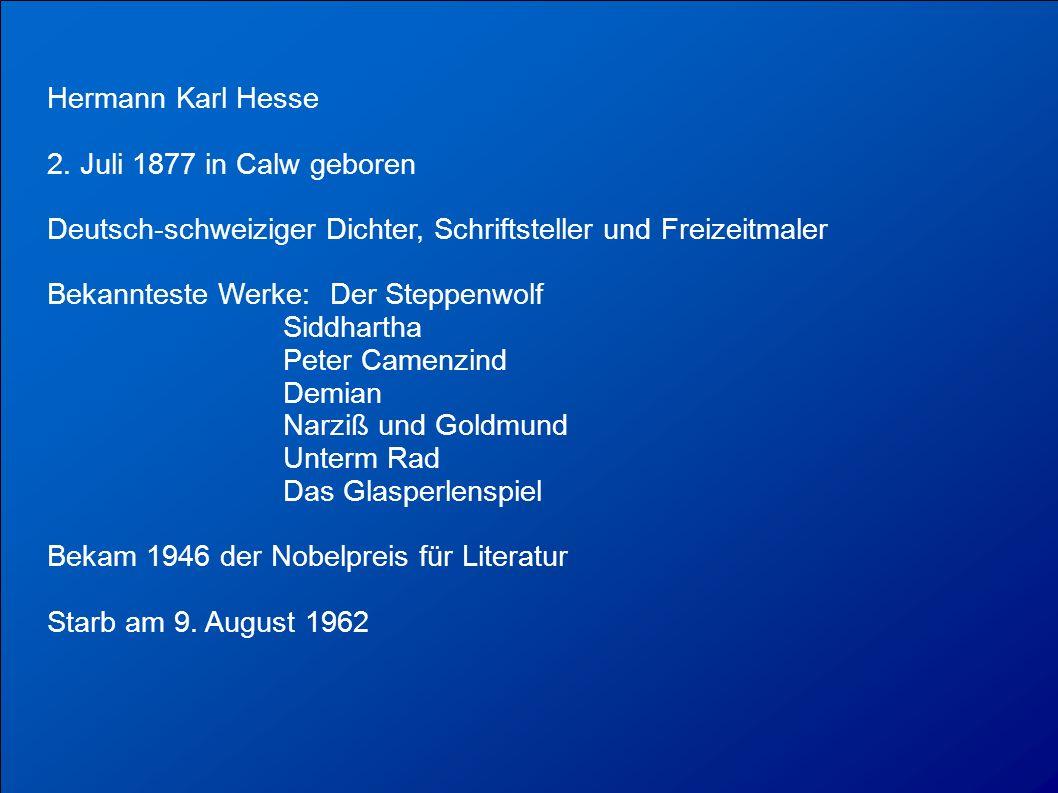 Hermann Karl Hesse 2.
