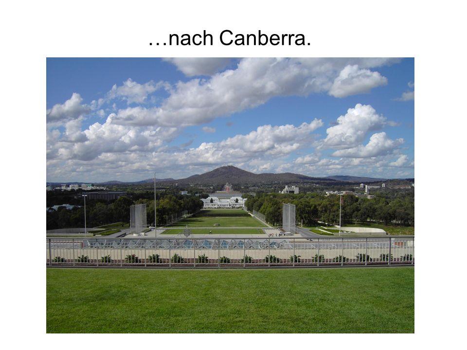 …nach Canberra.