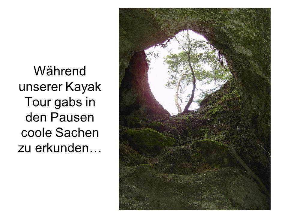…wie zum Beispiel diese Höhle (Spooky).