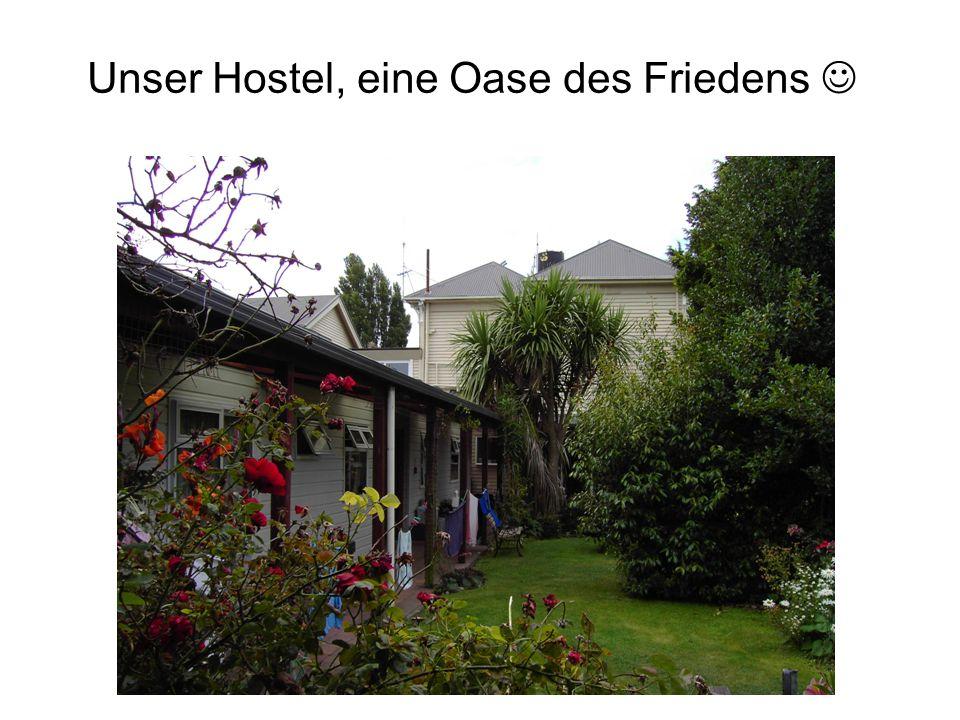 Unser Hostel, eine Oase des Friedens