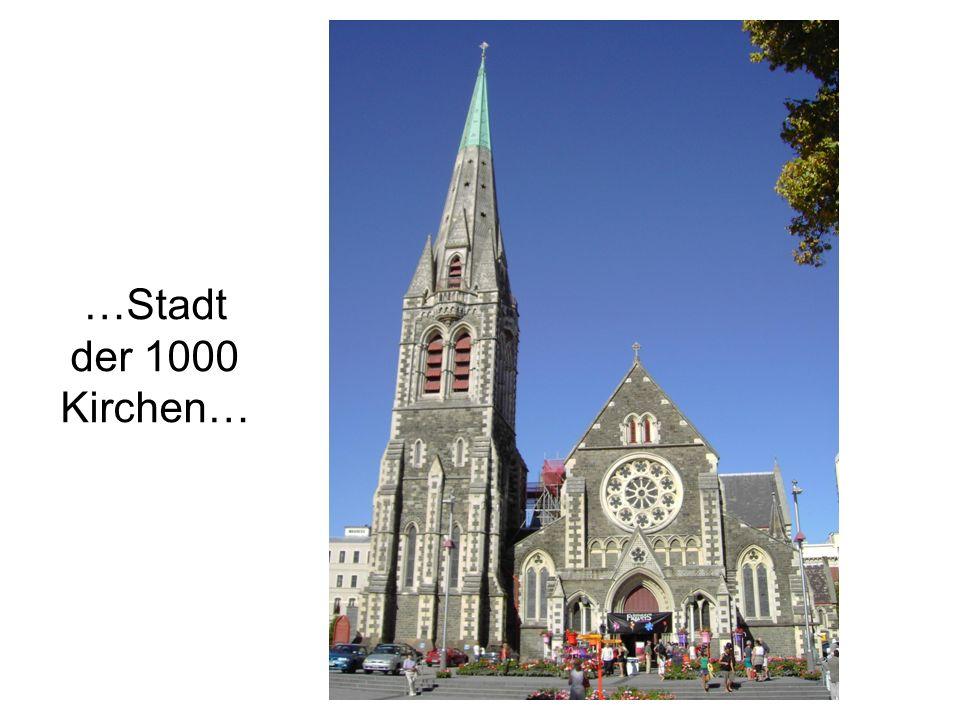 …Stadt der 1000 Kirchen…