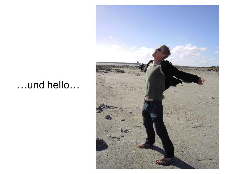 …und hello…