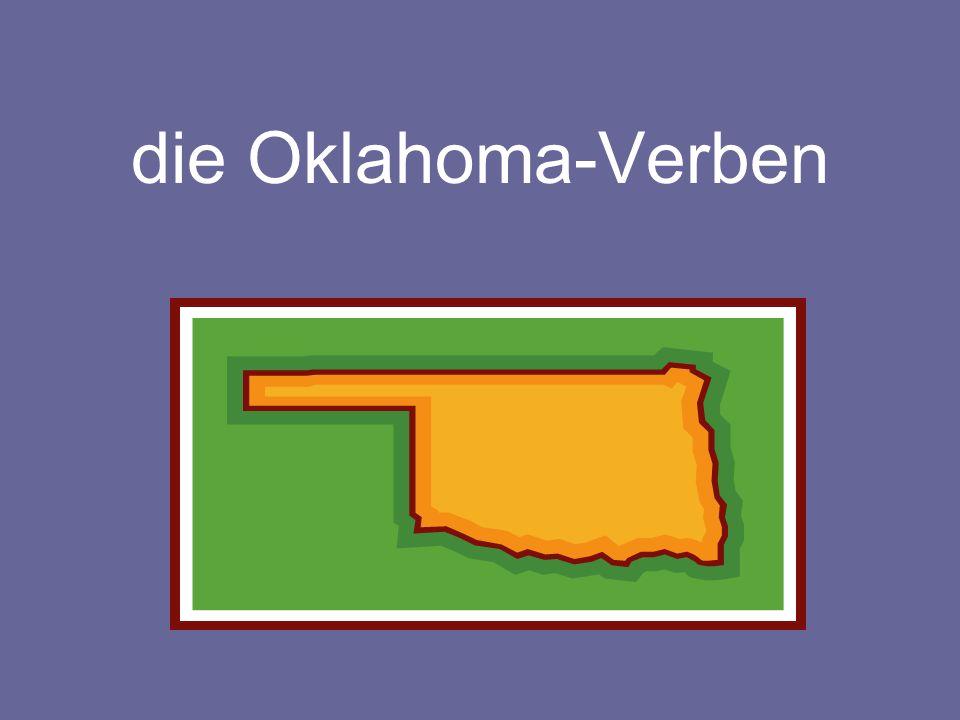 die Oklahoma-Verben