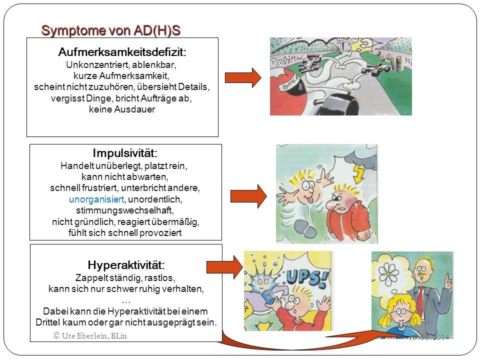 Symptome von AD(H)S Impulsivität: Handelt unüberlegt, platzt rein, kann nicht abwarten, schnell frustriert, unterbricht andere, unorganisiert, unorden