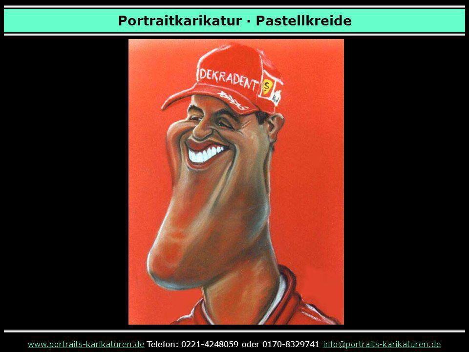 Portraitkarikatur · Pastellkreide www.portraits-karikaturen.dewww.portraits-karikaturen.de Telefon: 0221-4248059 oder 0170-8329741 info@portraits-karikaturen.deinfo@portraits-karikaturen.de