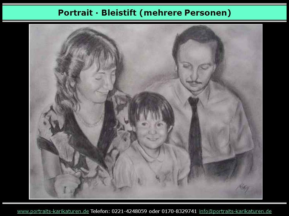 Portrait · Bleistift (mehrere Personen) www.portraits-karikaturen.dewww.portraits-karikaturen.de Telefon: 0221-4248059 oder 0170-8329741 info@portraits-karikaturen.deinfo@portraits-karikaturen.de
