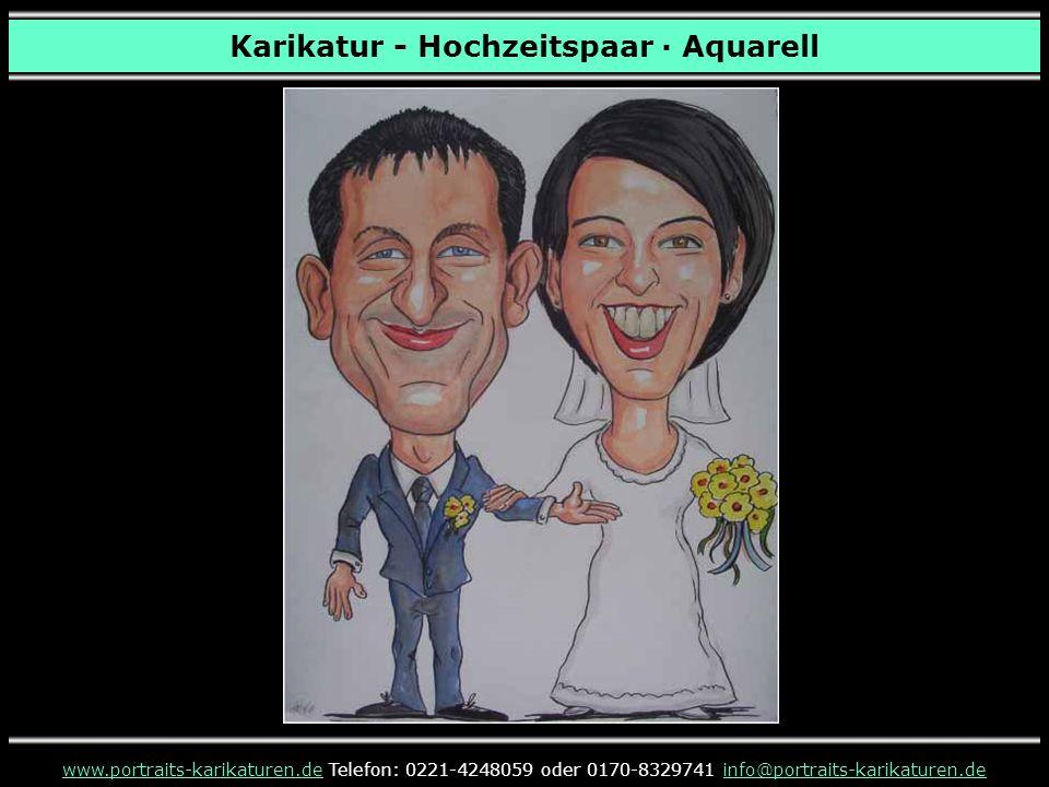 Karikatur - Hochzeitspaar · Bleistift www.portraits-karikaturen.dewww.portraits-karikaturen.de Telefon: 0221-4248059 oder 0170-8329741 info@portraits-karikaturen.deinfo@portraits-karikaturen.de