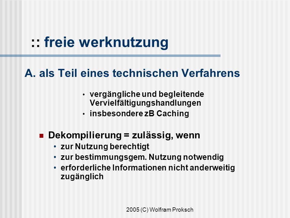 2005 (C) Wolfram Proksch :: freie werknutzung A.