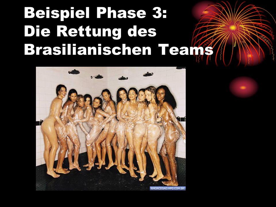 Beispiel Phase 2: Die Brasilianische Mannschaft