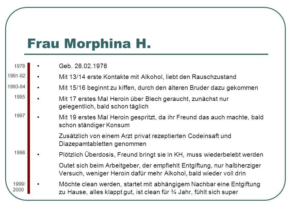 Frau Morphina H.