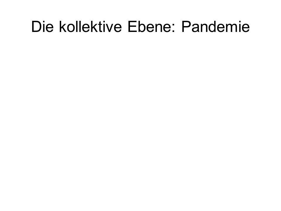 Die kollektive Ebene: Pandemie