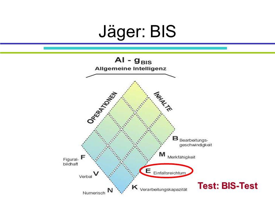 Jäger: BIS Test: BIS-Test