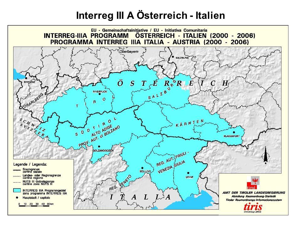 Interreg III A Österreich - Italien