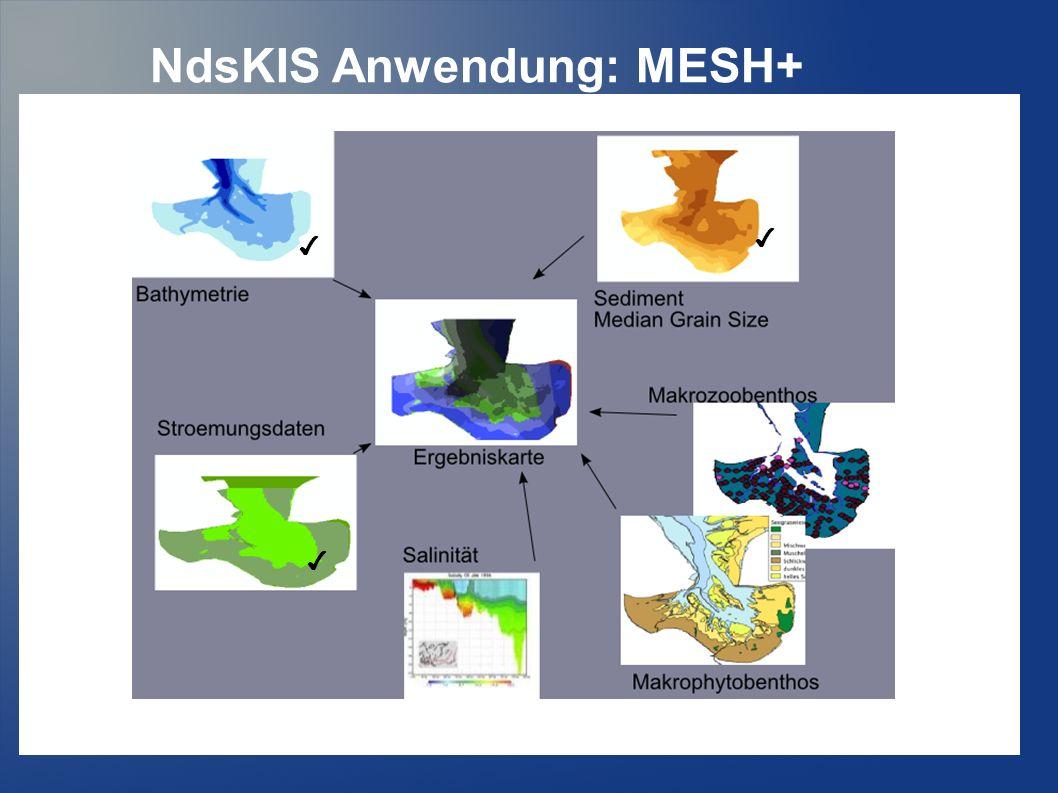 NdsKIS Anwendung: MESH+