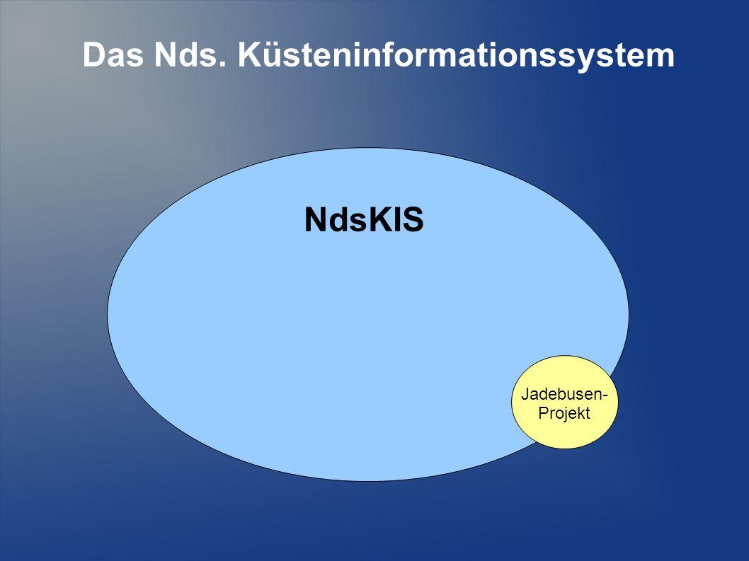 Das Nds. Küsteninformationssystem NdsKIS Jadebusen- Projekt