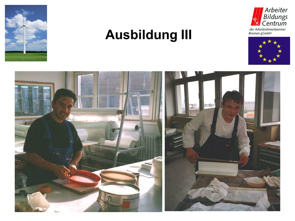 27.05.2003Projekt Polymere Ausbildung III