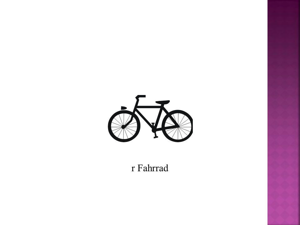 r Fahrrad
