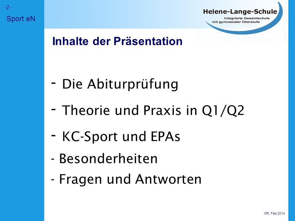 Schwerpunktfachkombinationen P1: Sport P2: Biologie (sinnvoll!!) oder Chemie/Physik dazu dann z.B.