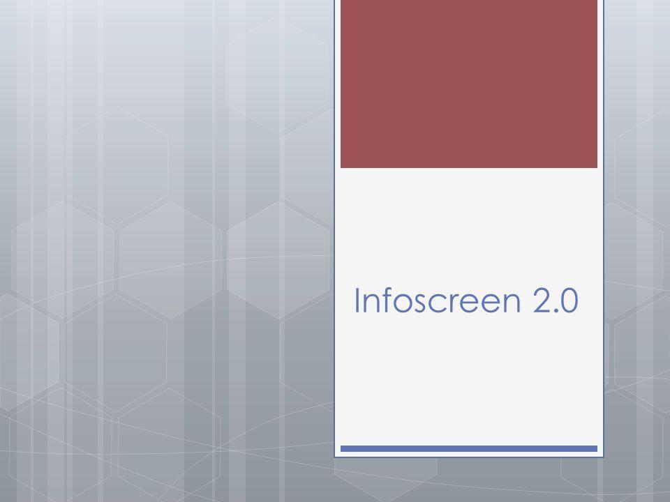 Infoscreen 2.0