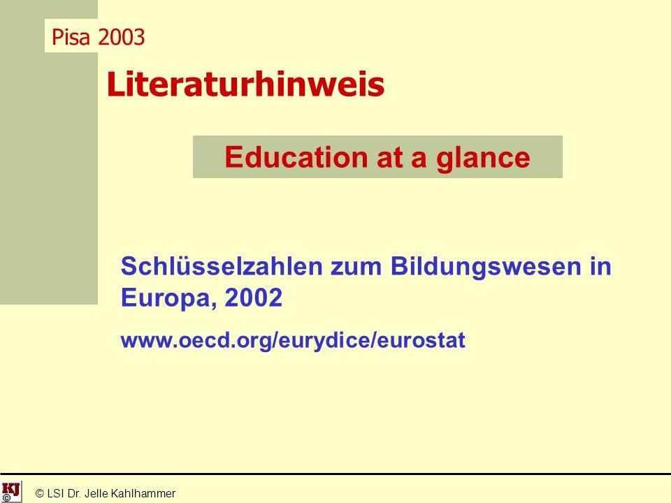 Literaturhinweis © LSI Dr.
