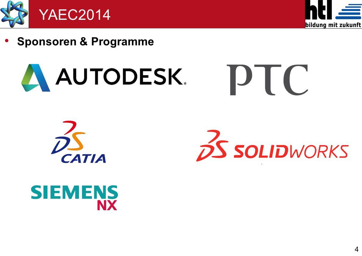 4 YAEC2014 Sponsoren & Programme