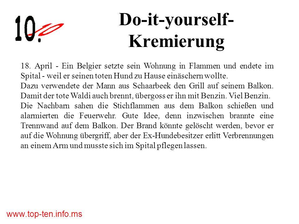 www.top-ten.info.ms Do-it-yourself- Kremierung 18.