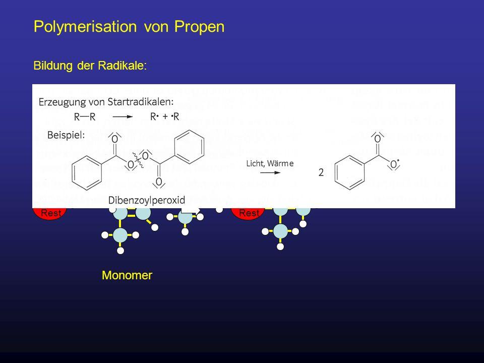 Polymerisation von Propen org.