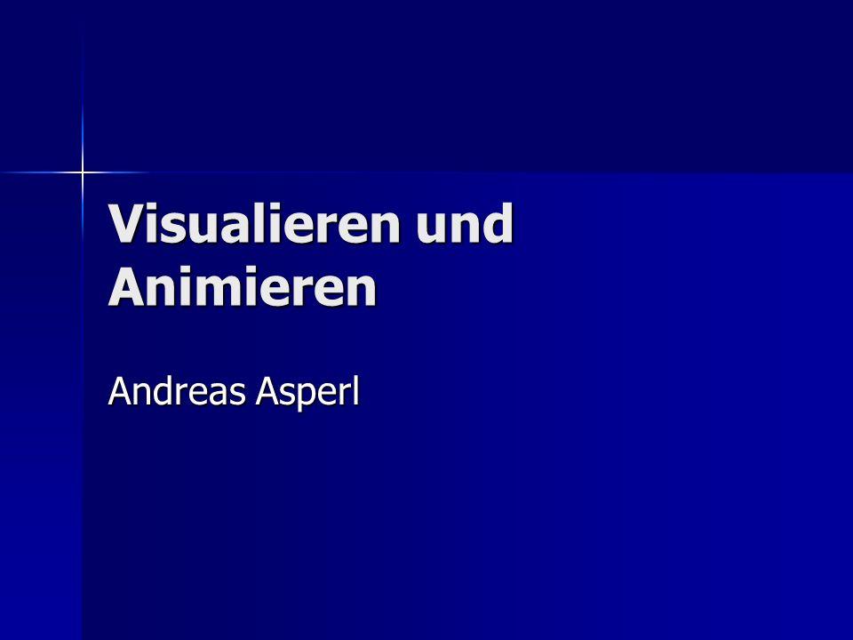 Visualieren und Animieren Andreas Asperl