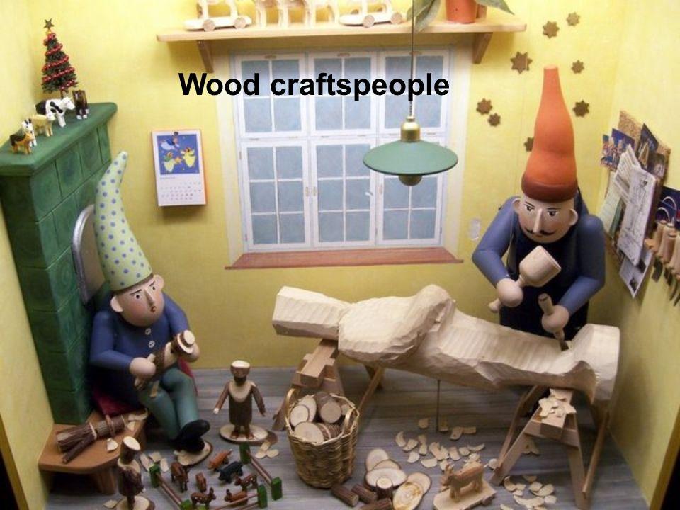 Wood craftspeople