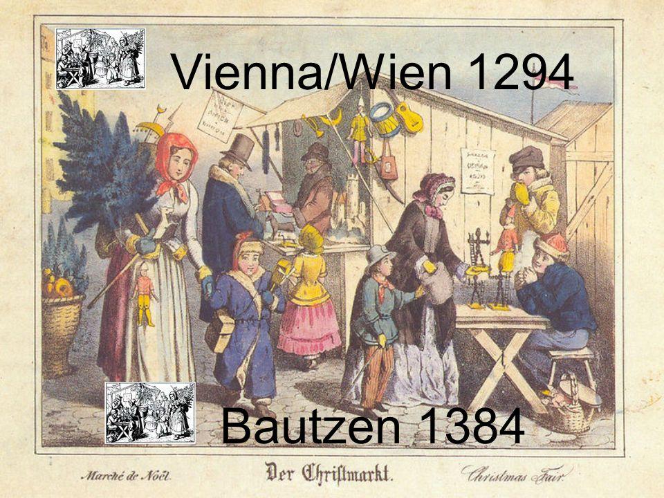 Vienna/Wien 1294 Bautzen 1384