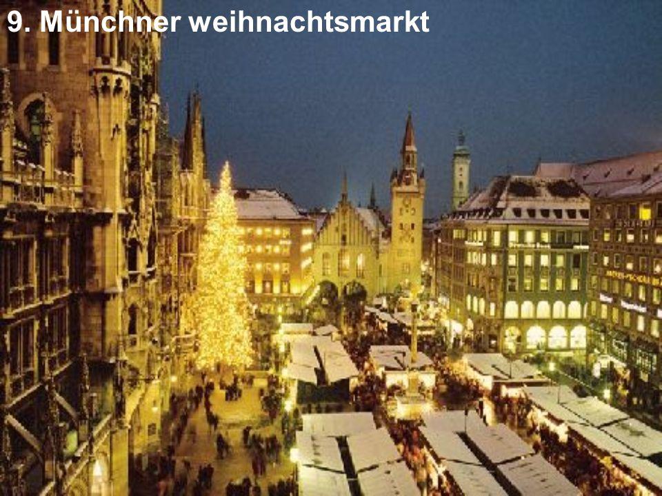 9. Münchner weihnachtsmarkt